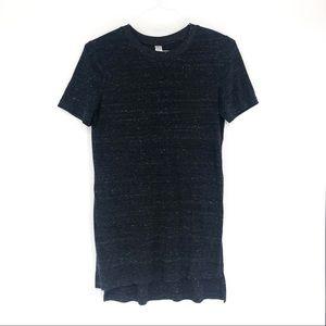 Alternative Apparel long tee shirt slits tunic L